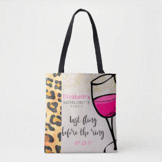 Tote Bag Dernier Fling avant la copie sauvage Bachelorette