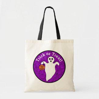 Tote Bag Des bonbons ou un sort éffrayant de fantôme de