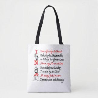 Tote Bag Description drôle 3 de Trini