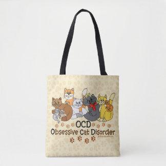 Tote Bag Désordre obsédant de chat d'OCD
