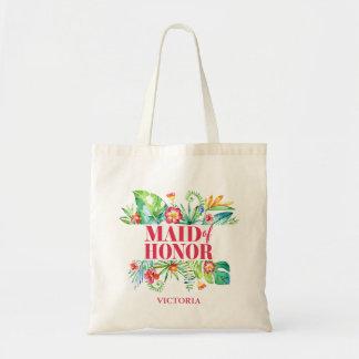 Tote Bag Domestique du mariage tropical de destination de