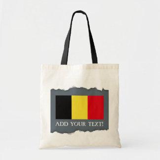 Tote Bag Drapeau de la Belgique