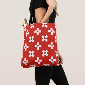 Tote Bag Drapeau de la Suisse avec le motif de coeur