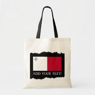 Tote Bag Drapeau de Malte