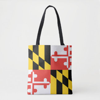 Tote Bag Drapeau d'état du Maryland