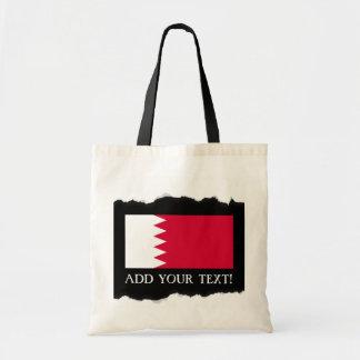Tote Bag Drapeau du Bahrain