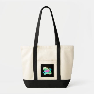 Tote Bag Drapeau et feux d'artifice -