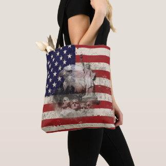 Tote Bag Drapeau et symboles des Etats-Unis ID155