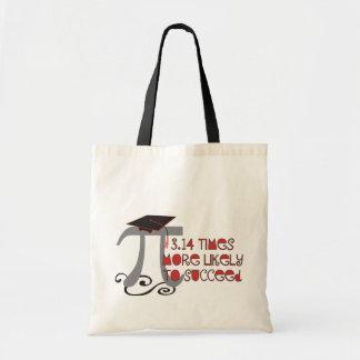 Tote Bag © drôle de diplômé d'aîné des maths pi