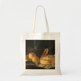 Tote Bag Du baroque toujours la vie vintage avec du pain,