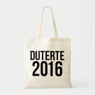 Tote Bag Duterte 2016