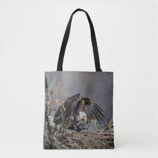 Tote Bag Eagle chauve avec son bébé