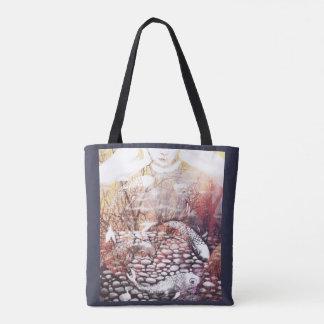 Tote Bag Earthtone Koi