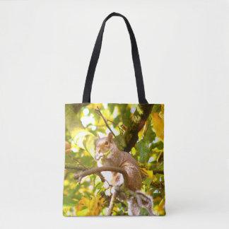 Tote Bag Écureuil gris