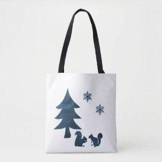 Tote Bag Écureuils