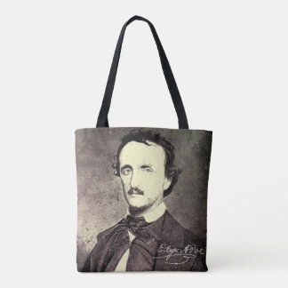 Tote Bag Edgar Allan Poe *Restored et Refinished*