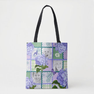 Tote Bag Édredon pourpre vintage de photo d'Instagram