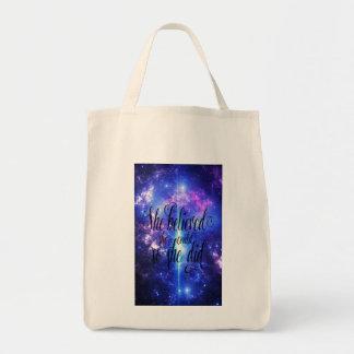 Tote Bag Elle a cru en cieux iridescents