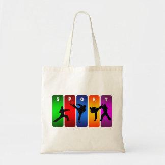 Tote Bag Emblème multicolore de karaté