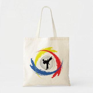 Tote Bag Emblème tricolore de karaté