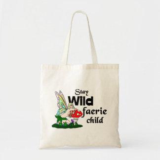 Tote Bag Enfant sauvage de féerie de séjour