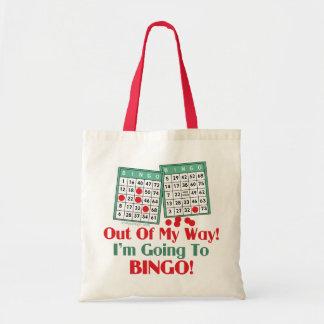 Tote Bag Énonciation drôle de bingo-test