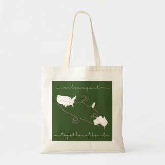 Tote Bag ensemble au coeur