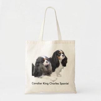 Tote Bag Épagneul cavalier du Roi Charles