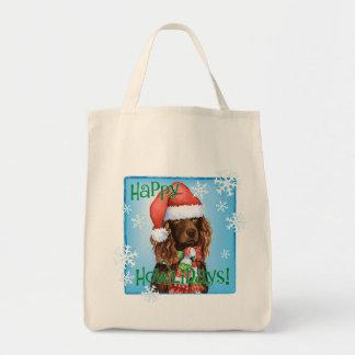 Tote Bag Épagneul heureux de Howliday Boykin
