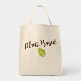 Tote Bag Épicerie Basée sur Plante Fourre-tout