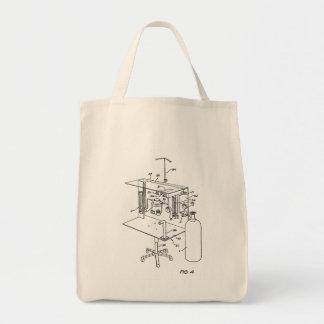 Tote Bag Épicerie Fourre-tout de machine d'anesthésie