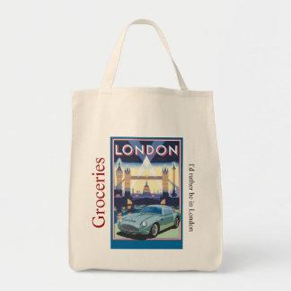 Tote Bag Épicerie Fourre-tout de scène de Londres