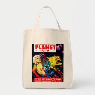 Tote Bag Épicerie VINTAGE de COUVERTURE de MAGAZINE de la