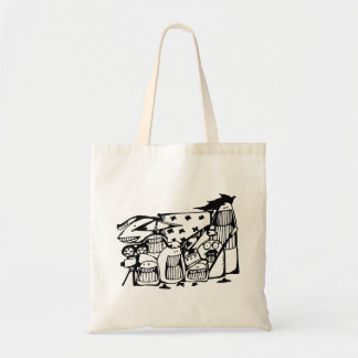 Tote Bag Équipages de Fourre-tout Bag_Movie de griffonnage