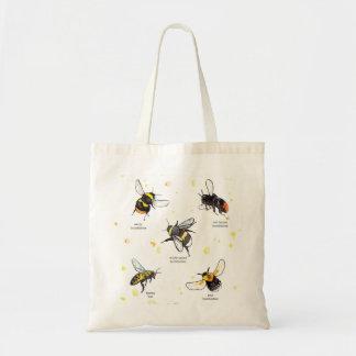 Tote Bag Espèces d'abeille