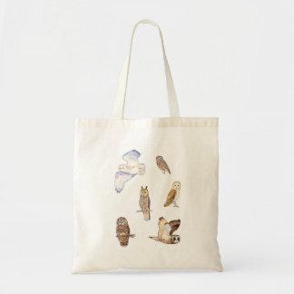 Tote Bag Espèces de hibou des îles britanniques
