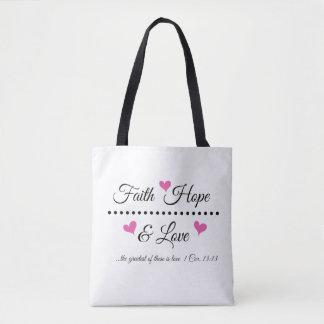 Tote Bag Espoir et amour de foi