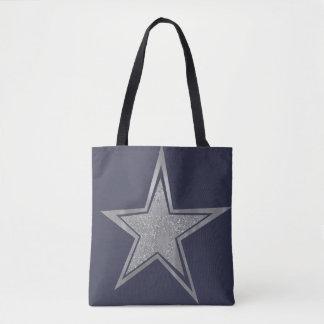 Tote Bag Étoile argentée de marine
