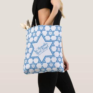 Tote Bag Étoile de David - nous nous rappelons, n'oublions
