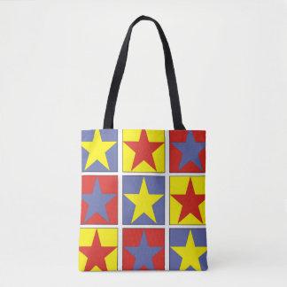 Tote Bag Étoiles tricolores