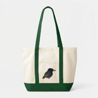 Tote Bag Étourneau d'Européen de Birdorable