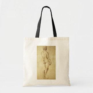 Tote Bag Étude de la statue de David de Michaël Angelo par