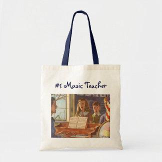 Tote Bag Étudiants de enseignement vintages de professeur