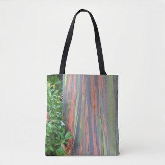 Tote Bag Eucalyptus d'arc-en-ciel