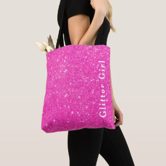Tote Bag Exposition de fille de parties scintillantes de