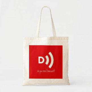 Tote Bag Faites-vous même Fourre-tout abattu