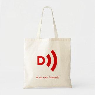 Tote Bag Faites-vous même Fourre-tout abattu renversé