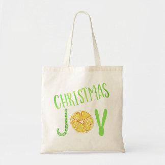 Tote Bag Fantaisie de sucre de canne et de citron de vert