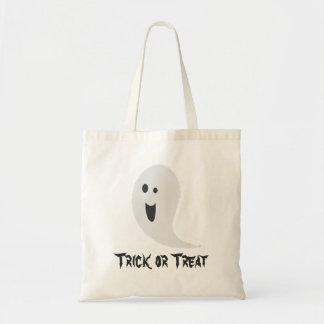 Tote Bag Fantôme effrayant éffrayant de des bonbons ou un