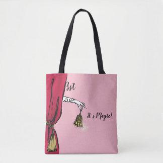 Tote Bag fashionillustration élégant de Noël